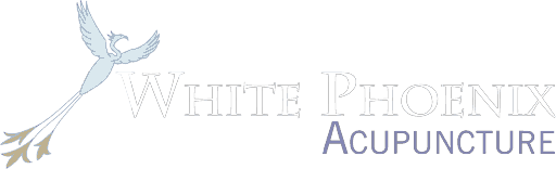 White Phoenix wide logo