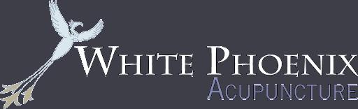 White Phoenix wide logo